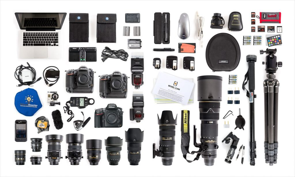 Photography gears