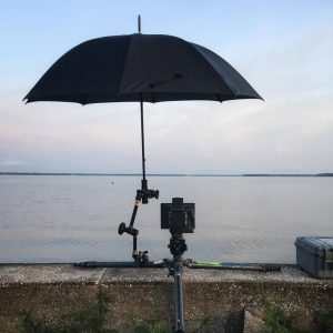 umbrella with dslr
