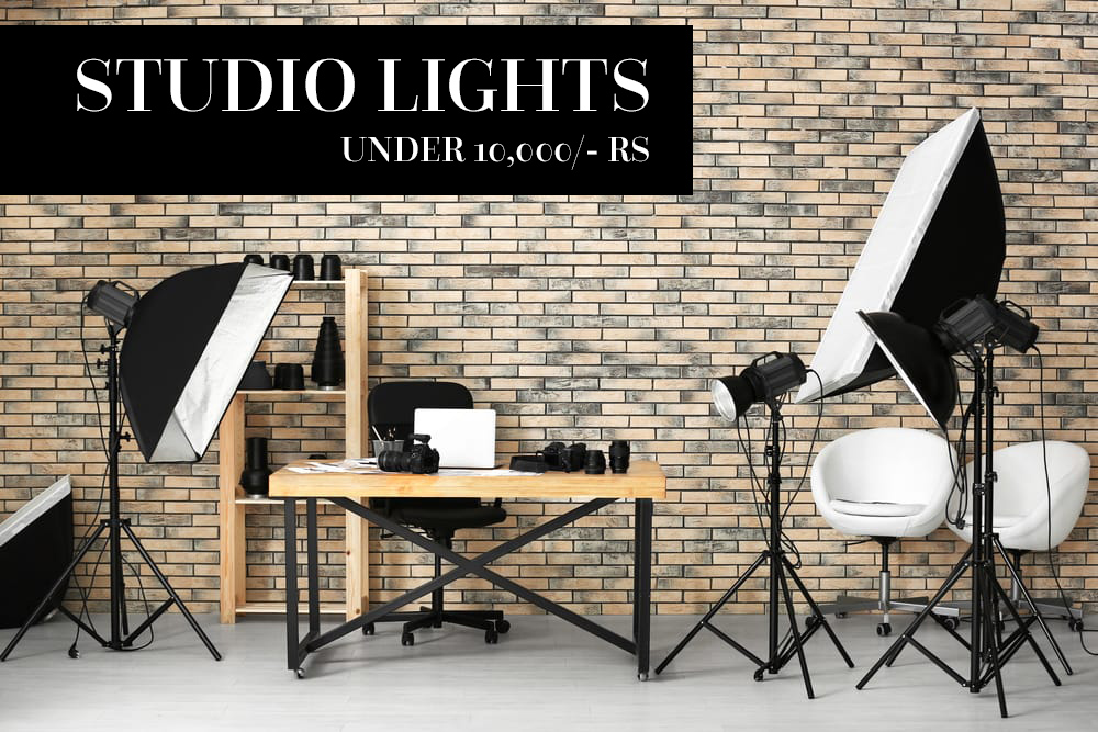 Budget studio lights – Studio lights under 10000/-Rs