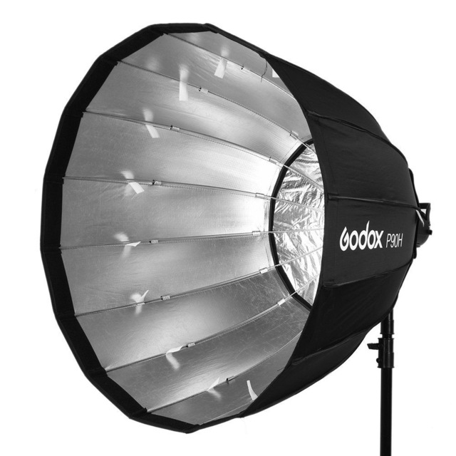 Godox P90H Deep Parabolic Umbrella Soft box – Unboxing, review and test shots.