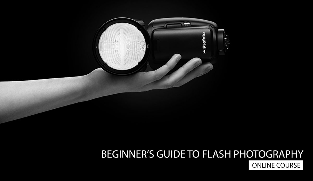 Online flash photography course