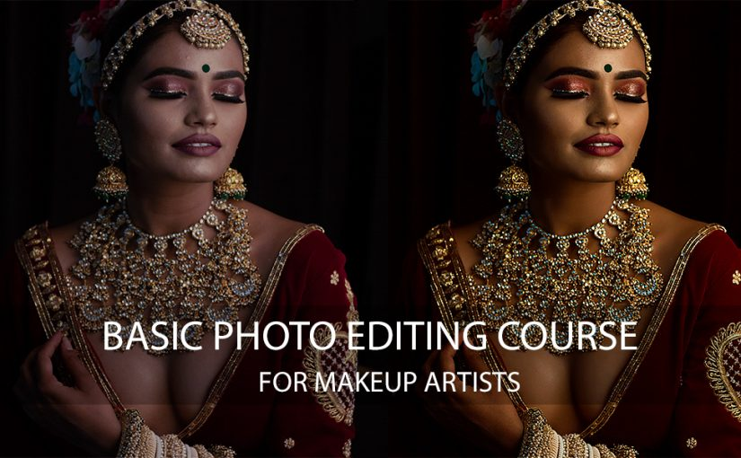 Basic Photo Editing Course For Makeup Artists, models & photographers. Hindi Language Photoshop Course