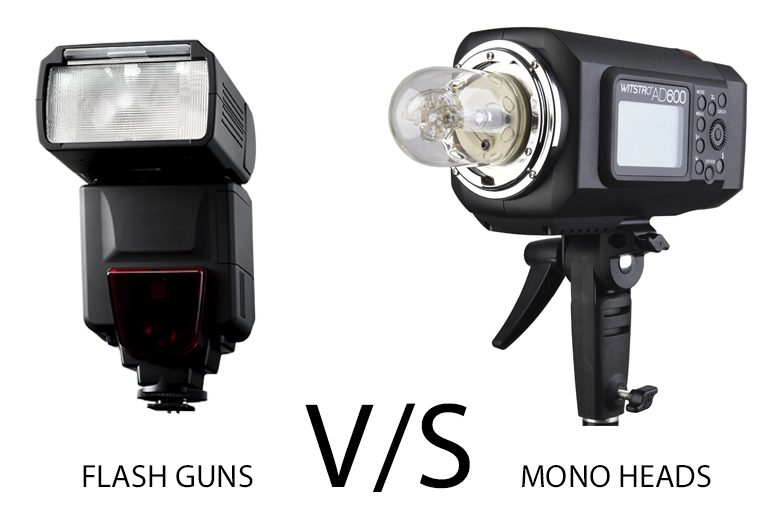 Best flash for outdoor photography – Flash guns VS Mono heads