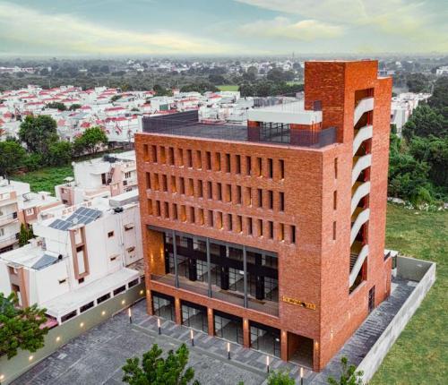 Drone architecture shots