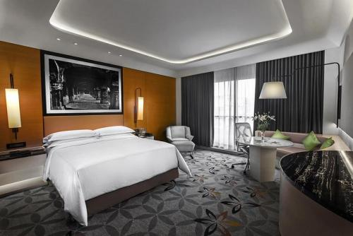 Hotel room interior photography